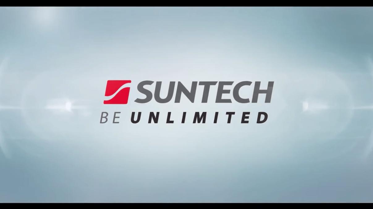 Zonnepanelen van Suntech, de focus